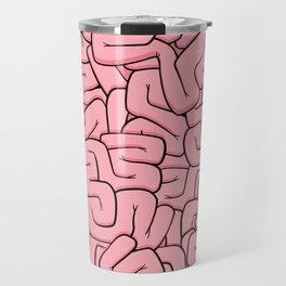 Guts or Brains - Pink Travel Mug