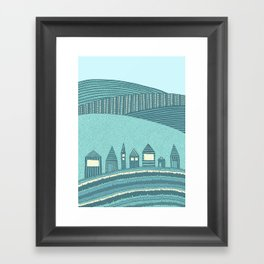 Where Seven Dwarfs Live Framed Art Print