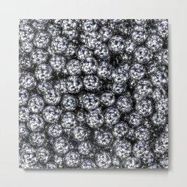 It's Full of Disco / 3D render of hundreds of shiny mirror balls Metal Print