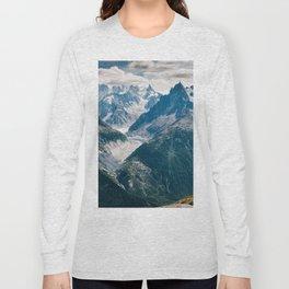 Chamonix, France #society6 #decor #buyart Long Sleeve T-shirt