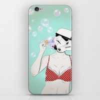 bubbles iPhone & iPod Skins featuring Bubbles by Cisternas