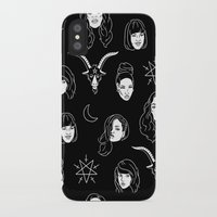 coven iPhone & iPod Cases featuring The Coven by Flash or Die!
