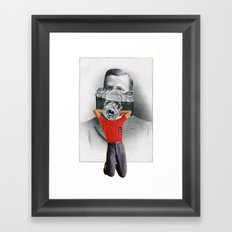 Some Say They Can Still See The Little Boy Inside Him Framed Art Print
