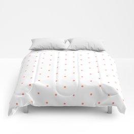 Pink Polka Dots Comforters