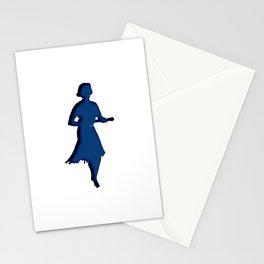 - ukulele marilyn - Stationery Cards