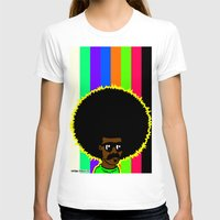 afro T-shirts featuring AFRO by watsonpablov
