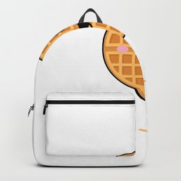 Weekends Are For Waffles T Shirt - Weekend Backpack
