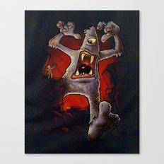 Monster! Canvas Print