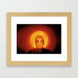 Freelance survivor Framed Art Print