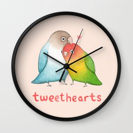Tweethearts Wall Clock