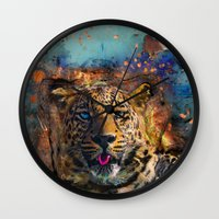 wicked Wall Clocks featuring Wicked by Robin Curtiss