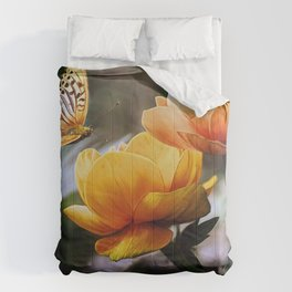 Painterly Butterfly Comforters