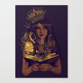 THE BELIEF OF CHILDHOOD Canvas Print