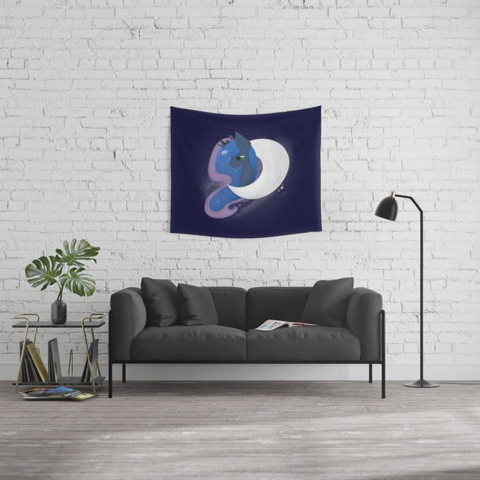 Luna of the Moon Wall Tapestry