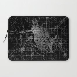 Tulsa map Oklahoma Laptop Sleeve