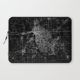 Tulsa map Oklahoma Laptop Sleeve