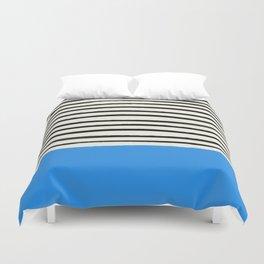 Ocean x Stripes Duvet Cover