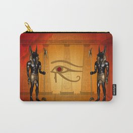 The all seeing eye with anubis Carry-All Pouch