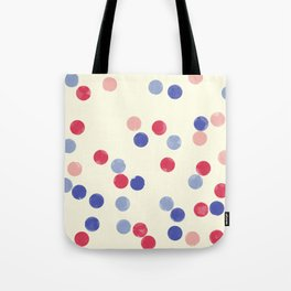 WATERCOLOR CONFETTI Tote Bag