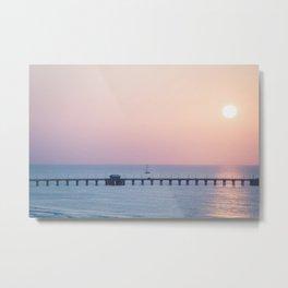 Morning Sail x Florida Coast Metal Print
