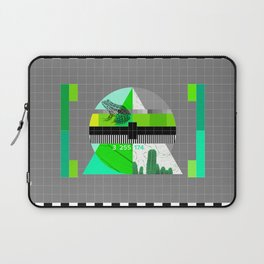 Waiting for the show to begin (Test Pattern 3) Laptop Sleeve
