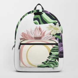 Sun and flowers Backpack