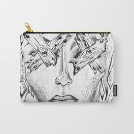They Say Eyes Are Windows To Our Soul Carry-All Pouch