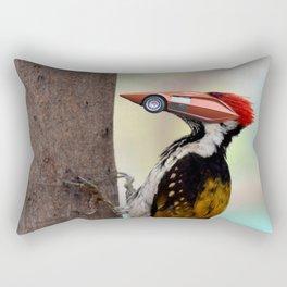 Stratos Woodpecker Rectangular Pillow