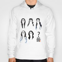 alex vause Hoodies featuring Alex Vause Hairstyles by Zharaoh