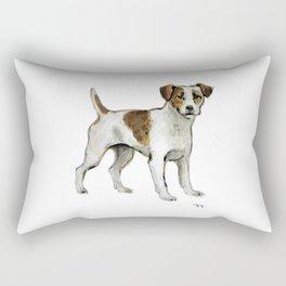 Jack Russell Terrier Rectangular Pillow