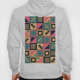 Colorful Geometric Floor Tile Pattern Hoody