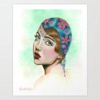 Lady Midnight Art Print