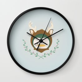 My Deer Penguin Wall Clock