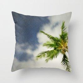 Hawaiian Nights Throw Pillow