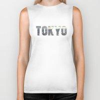 tokyo Biker Tanks featuring Tokyo by Bonnie J. Breedlove