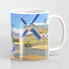 Pop Art Airliner Coffee Mug