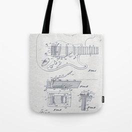 Electric Guitar 2 Tote Bag