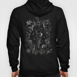 XXI. The World Tarot Card Illustration Hoody