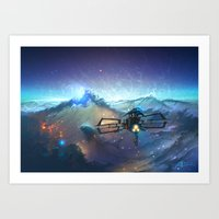 The Sea Of Space Art Print