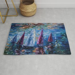 Sails To-Night Rug