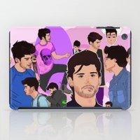 zayn iPad Cases featuring Zayn Collage by Pinkeyyou