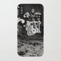 tape iPhone & iPod Cases featuring Tape by Young Weirdos Guild
