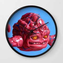 Krang — Banned from Dimension X Wall Clock