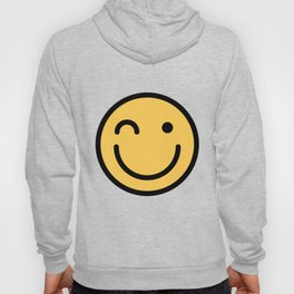 Smiley Face   Squinting Big Smiling Happy Smileys Hoody