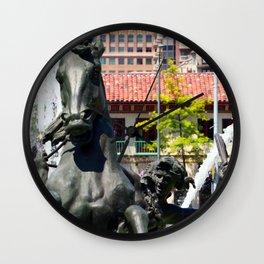 JC Nichols Fountain Wall Clock