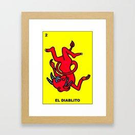 EL DIABLITO Framed Art Print