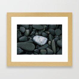 Pt. Reyes Rocks Framed Art Print