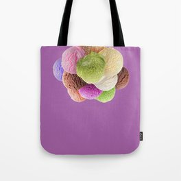 Ice Cream Interior Design Food Poster Minimal Art Print Lavender Home Decoration Tote Bag