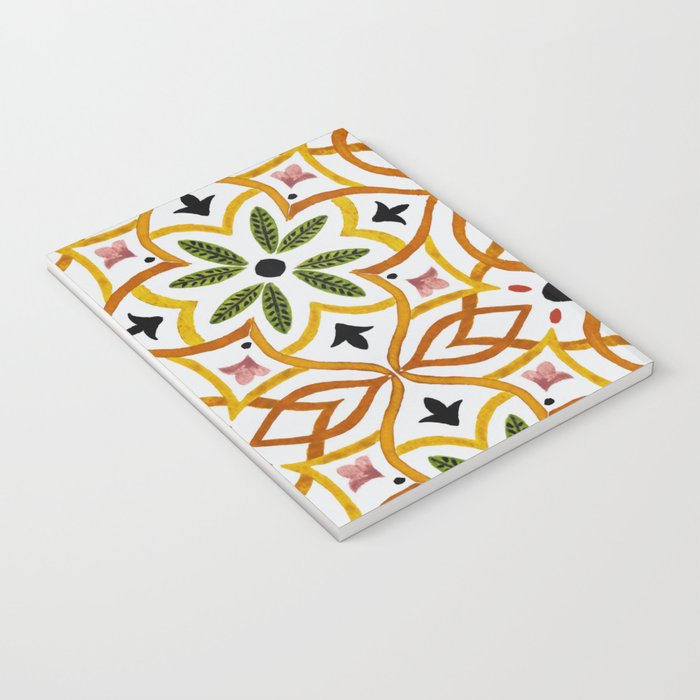 Obsession nature mosaics Notebook