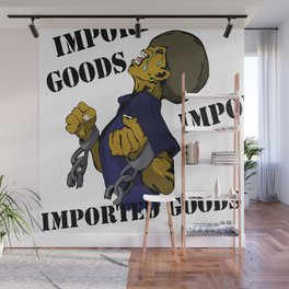 Imported Goods Wall Mural
